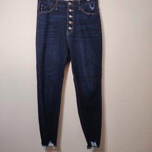 KanCan Dark Wash High Rise Skinny Denim Jeans 29